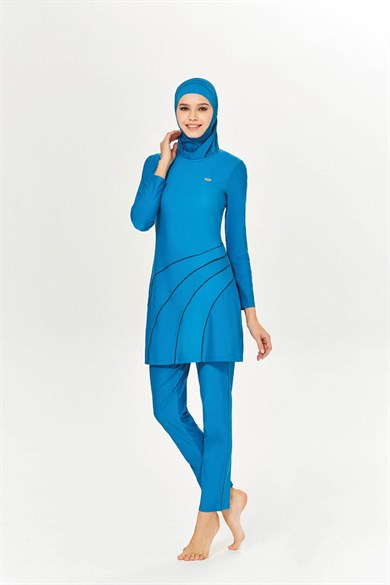 BURKINI ALL BLUE
