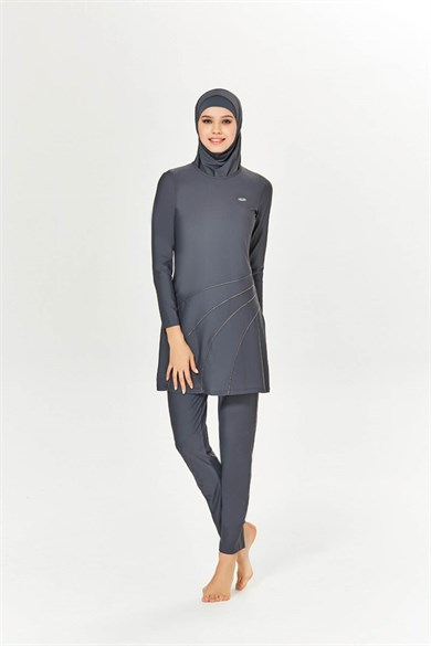 BURKINI ALL GREY