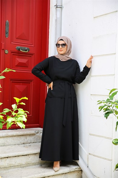 ENSEMBLE MODESTY JUPE BLACK