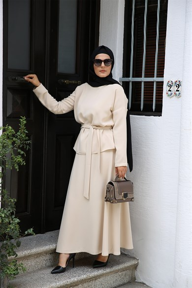 ENSEMBLE MODESTY JUPE NUDE